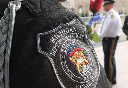 Michigan corrections officer