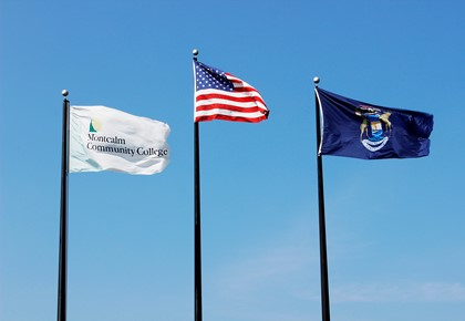 MCC's Sidney campus flags
